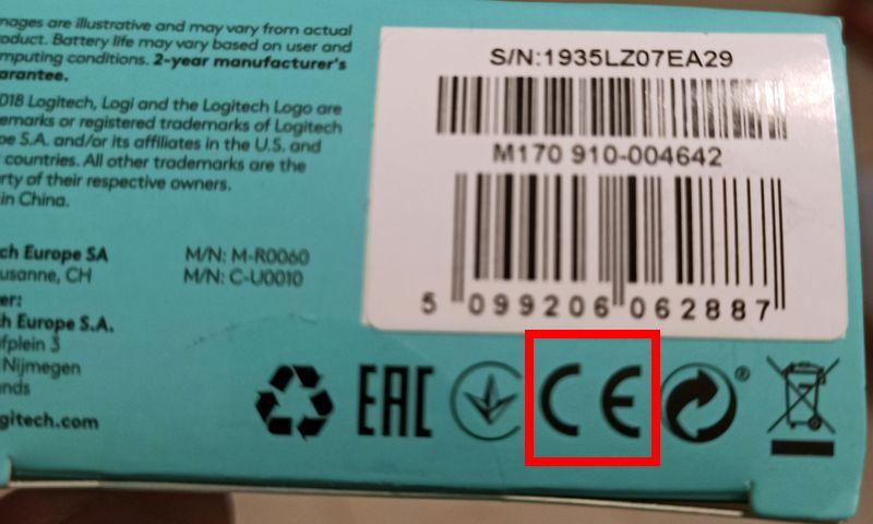 Символ значок CE обозначение