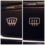 значок в машине три изогнутые стрелки вверх