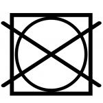 перечёркнутый круг в квадрате