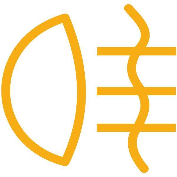 Значок задних противотуманных фонарей
