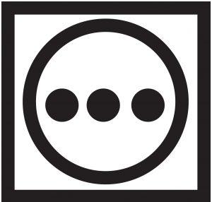 Символ на ярлыке – круг в квадрате с тремя точками – сушка при высокой температуре