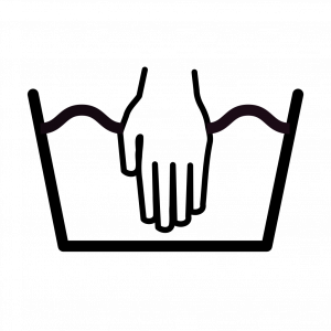 Символ на ярлыке – корыто, наполненное водой, с опущенной в него рукой