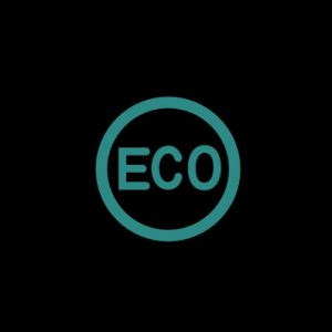 ECO в зеленом круге - режим экономии топлива