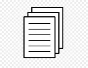 Несколько листов бумаги